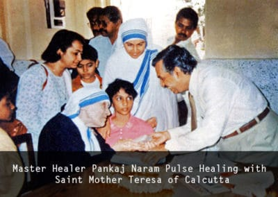 Dr. Naram Pulse Healing with Saint Mother Teresa of Calcutta