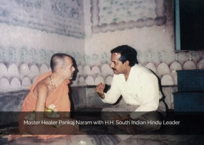Dr. Naram with H.H. South Indian Hindu Leader